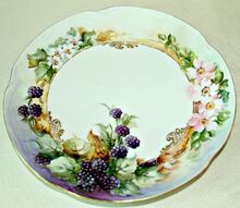 decorating with vintage the ultimate repurpose, home decor, painted furniture, Handpainted plate