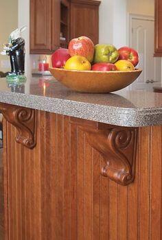 atlanta builder kitchen, home decor, home improvement, kitchen design, Corbels Beadboard