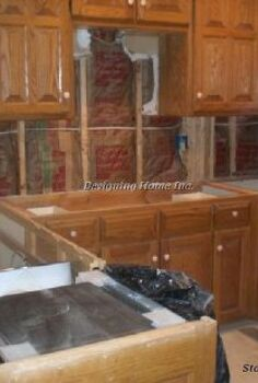griffin residence alpharetta ga remodeling kitchen glazed wash aged faux finish, home decor, kitchen backsplash, kitchen design, Before