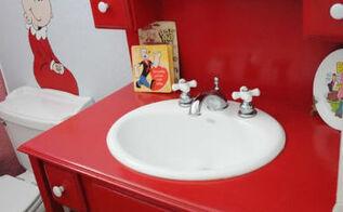 decorating small spaces kids bathroom, bathroom ideas, home decor