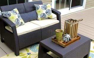from drab to fab deck makeover, decks, outdoor living