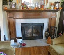 fireplace redo, fireplaces mantels, home decor, This is the before