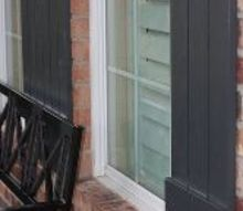 making exterior shutters, curb appeal, diy, how to