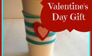 dollar store valentine s day gift, crafts
