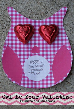 owl be your valentine homemade valentines, crafts, seasonal holiday decor, valentines day ideas, owl be your valentine