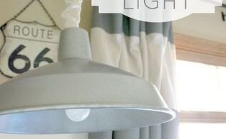 how to paint light fixtures industrial pendant makeover, lighting, painting, AFTER