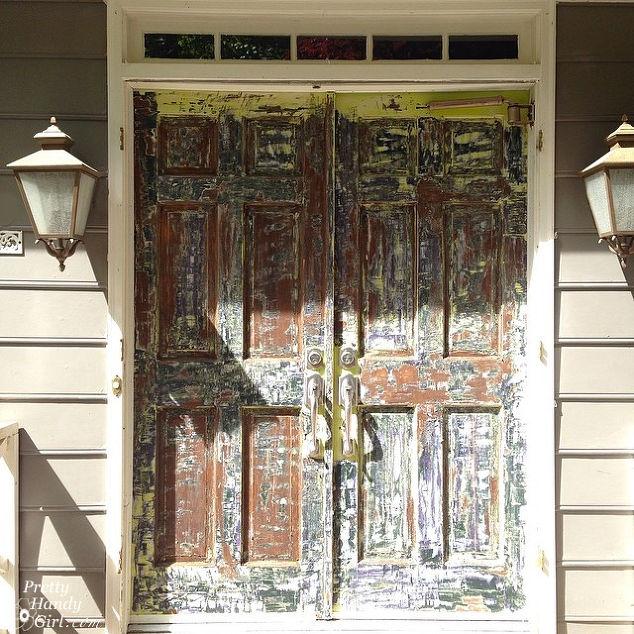 how to strip paint off a door doors painting