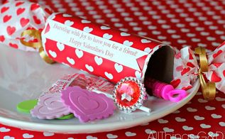 easy diy valentine poppers, crafts, repurposing upcycling, seasonal holiday decor, valentines day ideas, Kids love surprises they love opening things and they love discovering little treasures These fun Valentine s Day Poppers pack all of those punches