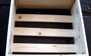 make a christmas tree crate hide that ugly stand, christmas decorations, hardwood floors, seasonal holiday decor, woodworking projects, Fitting my box all together I did not do a solid bottom