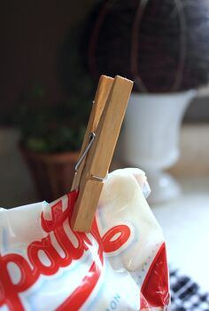 the very best trick for keeping brown sugar soft and usable, Just pop this one unexpected item in the bag of brown sugar pin it closed and it ll stay soft and fresh forever