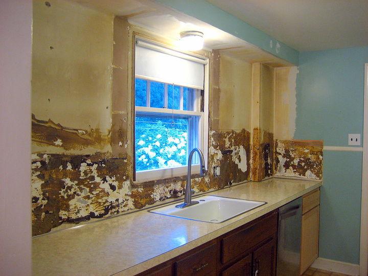 Removing Old Laminate Backsplash Kitchen Backsplash Kitchen Design Painting Shelving Ideas
