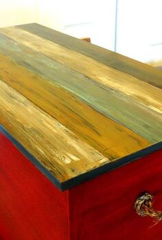 paint personality for storage chest, painted furniture
