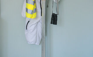 diy coat tree for under 7, cleaning tips, diy, DIY Coat Tree out of Electrical Conduit