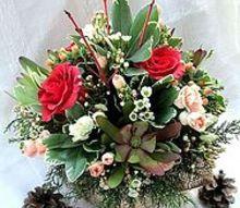 valentine s day winter palette, crafts, seasonal holiday decor, valentines day ideas, Winter Palette Centerpiece