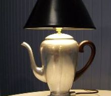 vintage coffee pot lamp, crafts, lighting, repurposing upcycling
