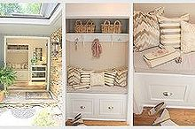 diy closet to entry bench, doors, foyer, home decor, Three different views