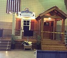 sneak peak at our new home show booth, New Home Show Booth