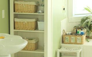 bathroom organization tips and tricks, bathroom ideas, organizing