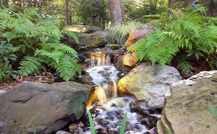 my top 3 favorite things about a pondless waterfall and stream, ponds water features, 1 Easy to take care of Pondless Waterfalls and Streams by Arbor Ridge Services require very little maintenance Pondless Waterfall Stream Fountains Landscaping Ideas Baltimore MD