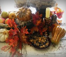the harvest table, home decor, seasonal holiday decor