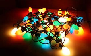 q how to store old fashion christmas light strings, christmas decorations, cleaning tips, seasonal holiday decor