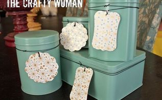 repurposing old tins, crafts, A new collection from random tins