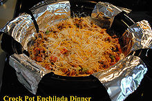 one day at a time enchilada crock pot dinner