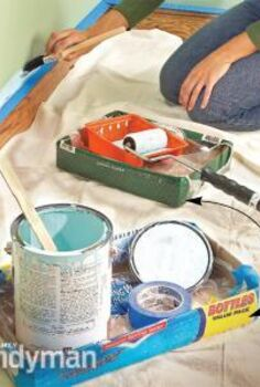 mess free painting tips