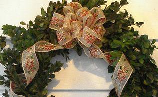the traditional fresh boxwood christmas wreath, seasonal holiday d cor, wreaths