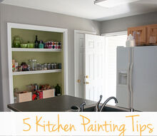 5 tips for painting a kitchen, kitchen design, painting