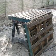 pallet swing, diy, pallet, repurposing upcycling, woodworking projects, A couple leftover pallets