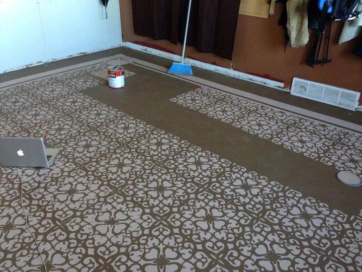 Painted Concrete Floors Hometalk