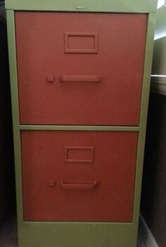 filing cabinet redo, kitchen cabinets, painted furniture