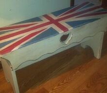 chalk painted bench, chalk paint, painted furniture