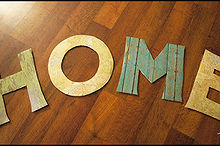 wall decor letters easy and affordable, crafts
