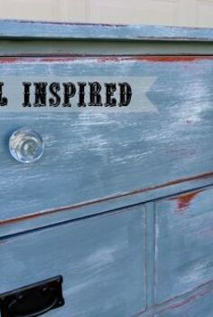 coastal inspired dresser gets the works, chalk paint, painted furniture