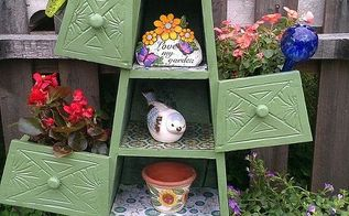 cheap thrift store find into another planter, gardening, repurposing upcycling