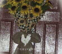 sunflower umbrella wreath, crafts, wreaths