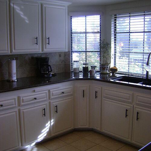 Oak Kitchen Cabinets    AFTER