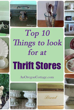 top ten at thrift stores, repurposing upcycling