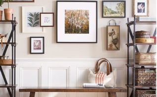 3 tips for hanging pictures and decorating walls, home decor, living room ideas, wall decor, Size art appropriately while adding dimension