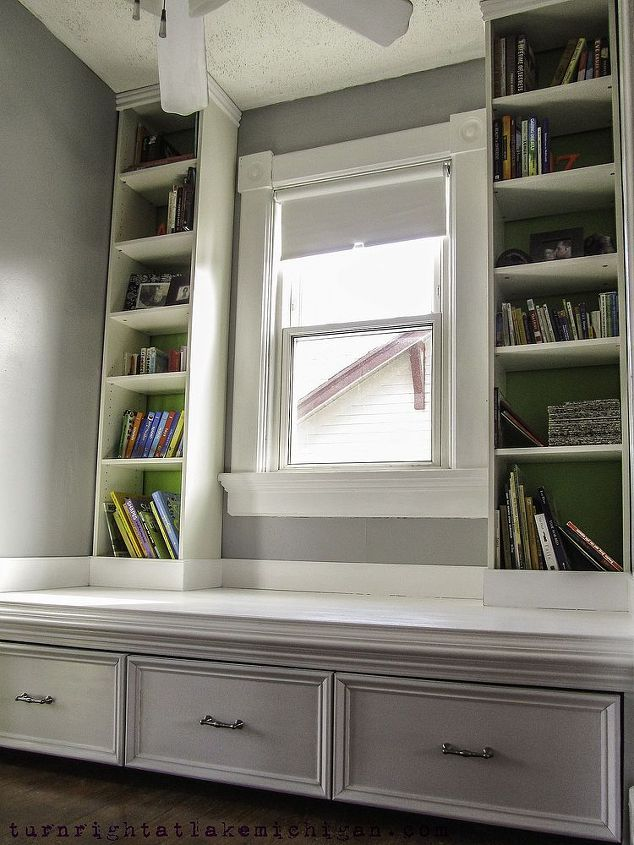Our Window Seat Family Library. | Hometalk