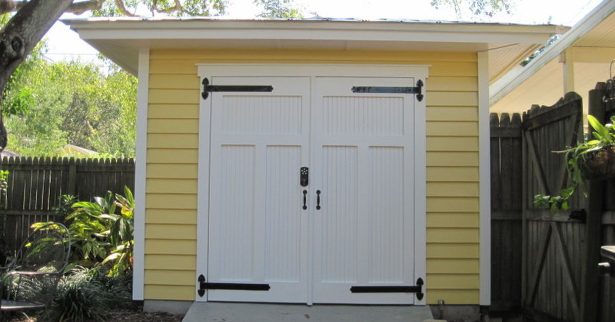 Hipped roof shed hometalk for Sheds in brooksville fl