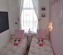 shabby chic girls room in tiny dimensions 6ft by 9ft, bedroom ideas, home decor, shabby chic