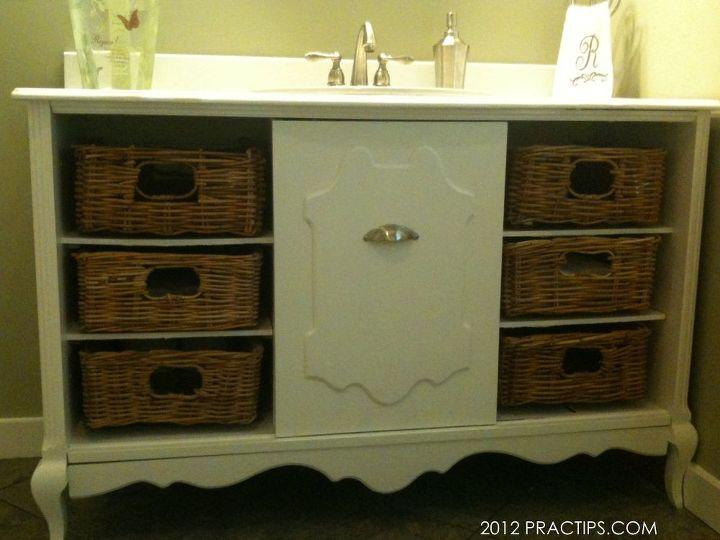 Thrifty Bathroom Sink Cabinet Hometalk