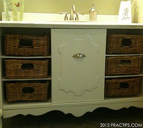 thrifty bathroom sink cabinet bathroom ideas kitchen cabinets i bought an old stereo