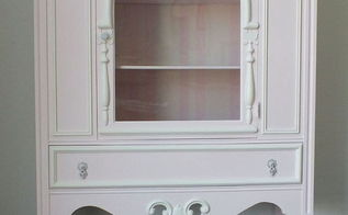 pretty in pink, painted furniture