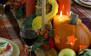 fall tablescape, christmas decorations, seasonal holiday d cor, thanksgiving decorations