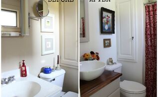 500 budget bathroom update, bathroom ideas, home decor