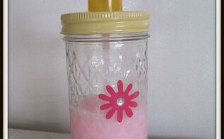 diy mason jar soap pump, crafts, mason jars, Use a mason jar to create a one of a kind soap pump that can be changed out seasonally